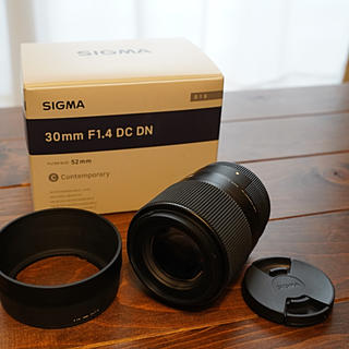 シグマ(SIGMA)の★SIGMA シグマ 30mm F1.4 DC DN(ソニーEマウント用(レンズ(単焦点))