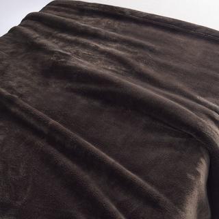 ムジルシリョウヒン(MUJI (無印良品))の新品  無印良品 あたたかファイバー厚手毛布 シングル(毛布)
