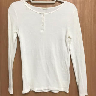 ジーユー(GU)のGU ワッフルtシャツ (Tシャツ(長袖/七分))