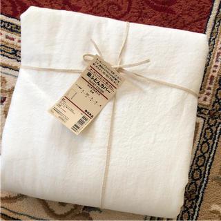ムジルシリョウヒン(MUJI (無印良品))の無印良品 掛け布団カバー セミダブル オーガニックコットン 新品未使用 SD(シーツ/カバー)