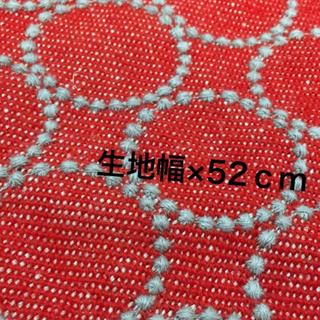 ミナペルホネン(mina perhonen)の11/23発売 ミナペルホネン タンバリン ファブリック レッド×グレー(ファブリック)