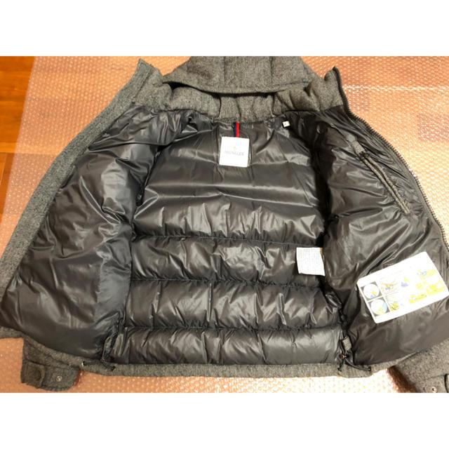MONCLER(モンクレール)のモンクレール ビームス 別注  MAYA ウール 美品 メンズのジャケット/アウター(ダウンジャケット)の商品写真