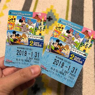 ディズニー(Disney)のリゾートライン2DAY PASS(鉄道乗車券)