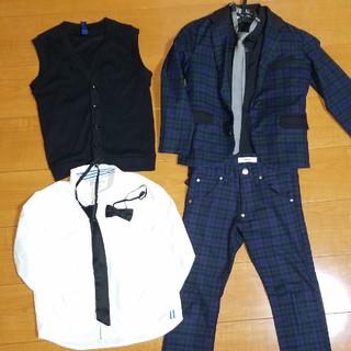 ジェネレーター(GENERATOR)のジェネレーター スーツ 120 GENERETOR  8点セット 細身 入学式(ドレス/フォーマル)