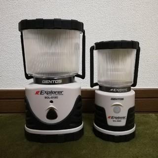 ジェントス(GENTOS)のDDEC様専用*ジェントス LEDランタン SOLシリーズ(ライト/ランタン)