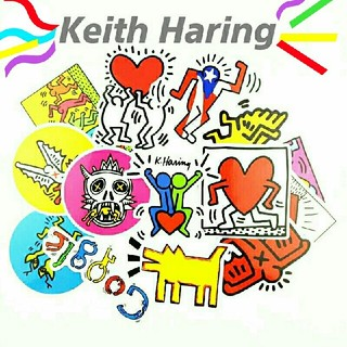 Keith Haring &ITステッカー集#cool!/14枚セット☆599円(その他)