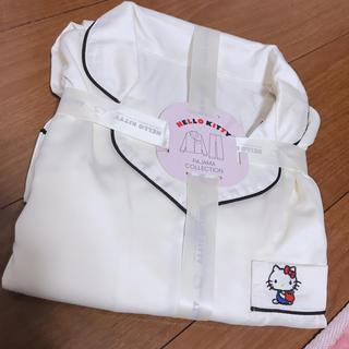 ジーユー(GU)の完売‼️‼️上下長袖サテンキティーちゃんパジャマ(パジャマ)