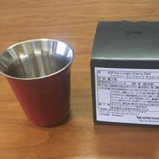 ネスレ(Nestle)の↘️ネスプレッソ ルンゴカップ   限定チェリーレッド(エスプレッソマシン)