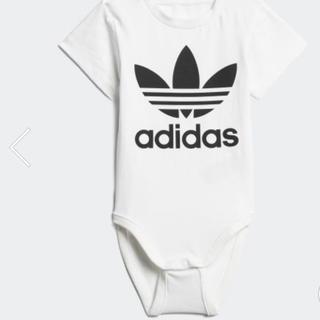 アディダス(adidas)のI TREFOIL BODY 90 【新品未使用】(ロンパース)