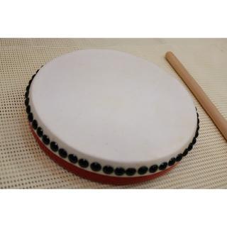 沖縄伝統芸能エイサー用太鼓パーランクー(大サイズ) 新品未使用(和太鼓)