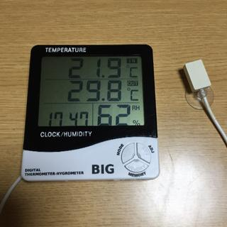 カミハタデジタル温湿度計(爬虫類/両生類用品)