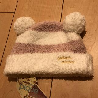 gelato pique - ジェラートピケ 新品 耳付き帽子