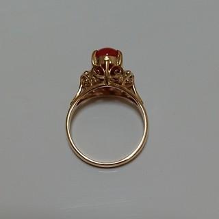 赤珊瑚☆レトロリング(リング(指輪))