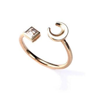 エナソルーナ(Enasoluna)のエナソルーナ ピンキーリング k10(リング(指輪))