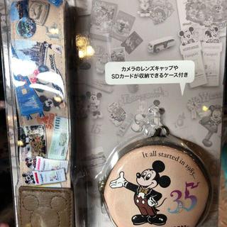 ディズニー(Disney)のディズニー 35周年 カメラストラップ(ネックストラップ)