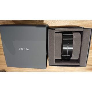ソニー(SONY)の[新品] Sony wena wrist PremiumBlack(バンドのみ)(金属ベルト)