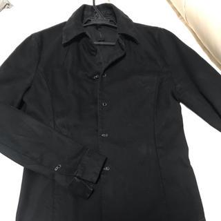 ダブルジェーケー(wjk)のwjk  4フックブラックデニムシャツ (シャツ)