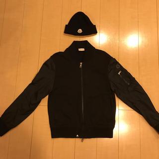 モンクレール(MONCLER)のモンクレール  MONCLER ブルゾン ニット帽(ブルゾン)