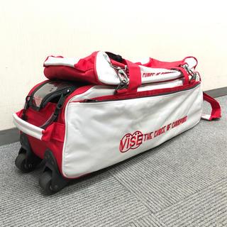 新古品 VISE(バイス)3ボールユニットトートバッグ(シューズケース付き)(ボウリング)