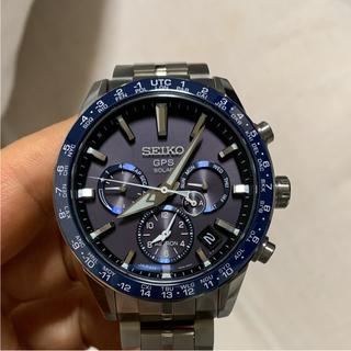 セイコー(SEIKO)の極上美品 セイコー アストロン SBXC001 GPSソーラー ブルー(腕時計(アナログ))