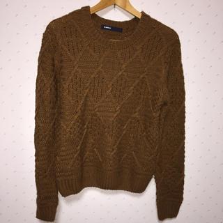 アズノゥアズオオラカ(AS KNOW AS olaca)のセーター(ニット/セーター)