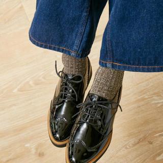 オゥバニスター(AU BANNISTER)のAu BANNISTER レースアップシューズ(ローファー/革靴)