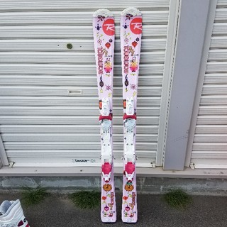 ロシニョール(ROSSIGNOL)の専用♡ロシニョールスキー板♡ピンク♡女の子♡120(板)