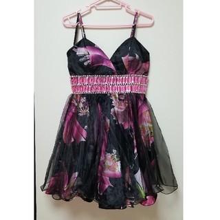 スパイシーマーマレード(SPICY MARMALADE)のSPICY MARMALADE キャバ ドレス クリスマス ワンピース ビジュー(ナイトドレス)