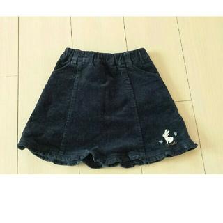 クラウンバンビ(CROWN BANBY)のCROWN BANBY 女児100 コーデュロイスカート(スカート)