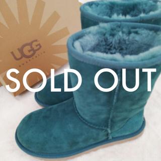 アグ(UGG)のUGG□新品 国内購入□グリーン□US6(ブーツ)