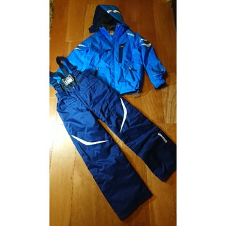 ゴールドウィン(GOLDWIN)のスキーウェア 140cm 男の子 GOLDWIN グローブのおまけ付き(ウエア)