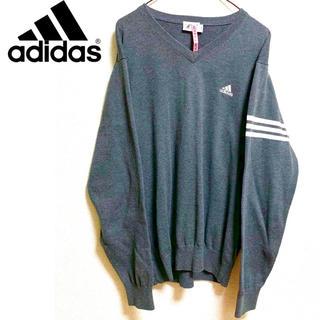 アディダス(adidas)のadidas ニット L(ニット/セーター)