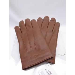 de462a464e3d コーチ(COACH)のCOACH コーチ メンズ レザー グローブ Lサイズ F54182 ブラウン(手袋
