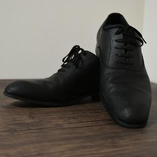 ザラ(ZARA)のZARA (ザラ) 革靴 ブラック(その他)