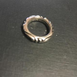 クロムハーツ(Chrome Hearts)のクロムハーツ スクロールバンドリング(リング(指輪))