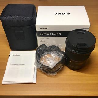 シグマ(SIGMA)のSIGMA 50mm F1.4 Art Canon EFマウント おまけ付き(レンズ(単焦点))