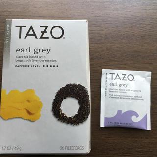 スターバックスコーヒー(Starbucks Coffee)のタゾティー tazo tea スターバックス スタバ  紅茶 アールグレイ(茶)