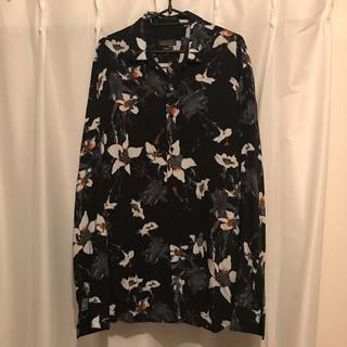 ZARA - zara mens flower shirt XL