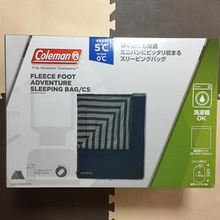 コールマン(Coleman)の新品 コールマン 寝袋 アドベンチャースリーピングバッグ/C5 分割可 送料無料(寝袋/寝具)