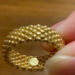 ティファニー(Tiffany & Co.)のティファニー サマセット 750 ゴールド(リング(指輪))