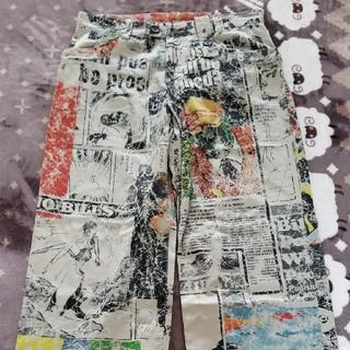 ヨウジヤマモト(Yohji Yamamoto)のヨウジヤマモト 石ノ森コラボ カーゴパンツ 美品 仮面ライダー キカイダー(ワークパンツ/カーゴパンツ)