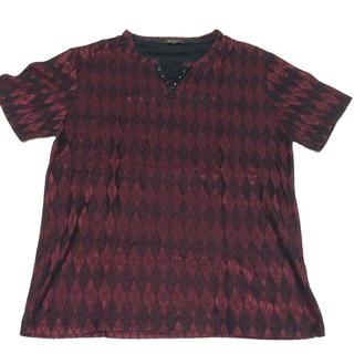 エムエフエディトリアル(m.f.editorial)のm.f.editorial Tシャツ ワイン色(Tシャツ/カットソー(半袖/袖なし))
