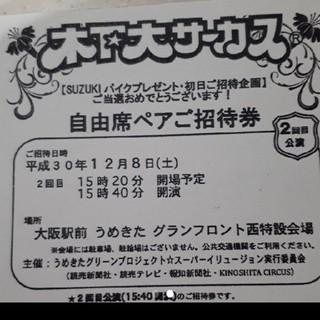 ダージリン様 専用 木下大サーカス ペアチケット(サーカス)