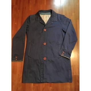 ヴィスヴィム(VISVIM)のVISVIM mies coat blue 2(ステンカラーコート)