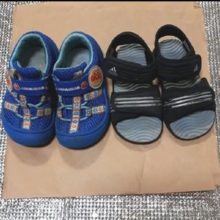 アディダス(adidas)の値下げ アンパンマン スニーカー14EE+サンダルadidas14cm(サンダル)