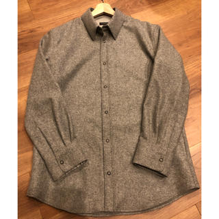 ジルサンダー(Jil Sander)の極美品 ジルサンダー  ウールシャツ ジャケット 定価6万円超(シャツ)