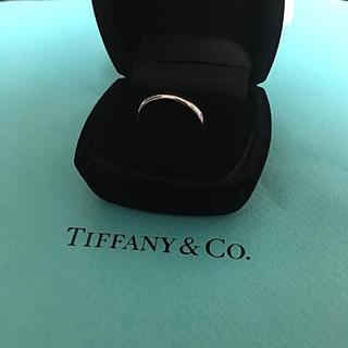 ティファニー(Tiffany & Co.)の【早い者勝ち】ティファニー Pt950 14号 クラシックバンド リング (リング(指輪))