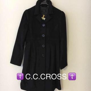 シーシークロス(C.C.†CROSS)のC.C.CROSS(シーシークロス)★黒ロングコート(ロングコート)