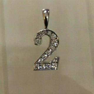 アイファニー(EYEFUNNY)のアイファニー ペンダントトップ ナンバー2(ネックレス)