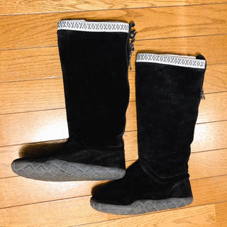 ナイキ(NIKE)のナイキ⭐️NIKE  24センチ‼️チャッカモック  ブラック ブーツ(ブーツ)